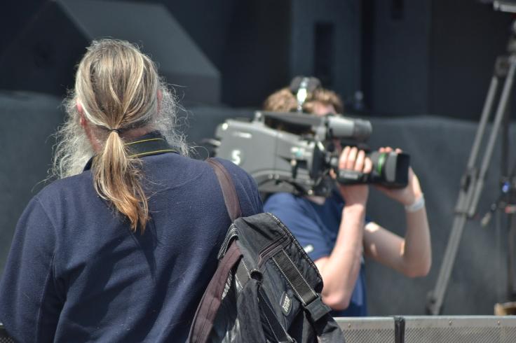 De fotograaf en de cameraman