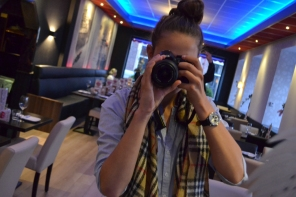 Zelfportret van de fotograaf